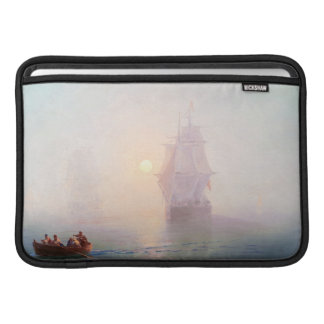 Naval Ship Ivan Aivazovsky seascape waterscape sea Sleeve For MacBook Air