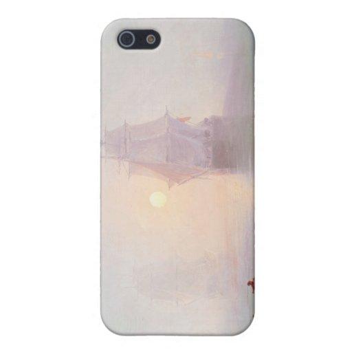 Naval Ship Ivan Aivazovsky seascape waterscape sea iPhone 5 Cases