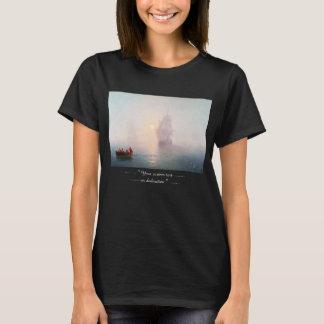 Naval Ship Ivan Aivazovsky seascape waterscape sea T-Shirt