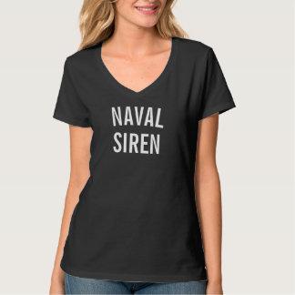 Naval Siren Women's V-Neck T-Shirt