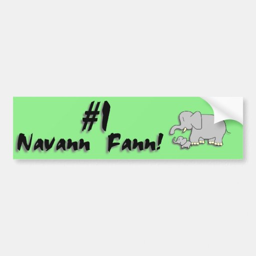 Navann Etiqueta De Parachoque