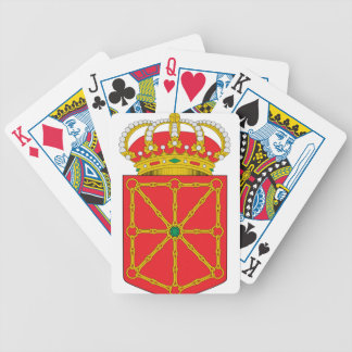 Navarra (Spain) Coat of Arms Bicycle Playing Cards