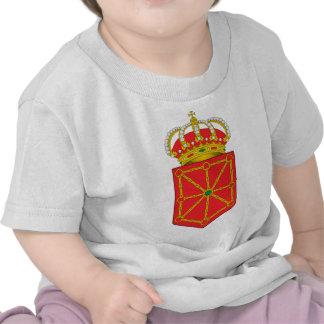 Navarra Spain Coat of Arms Tee Shirt