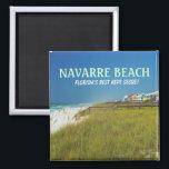 """NAVARRE BEACH FLORIDA MAGNET<br><div class=""""desc"""">Magnet - Scenic beachscape of Navarre Beach,  Florida</div>"""