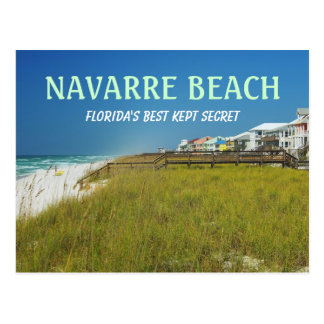 Navarre Beach - Florida's Best Kept Secret Postcard