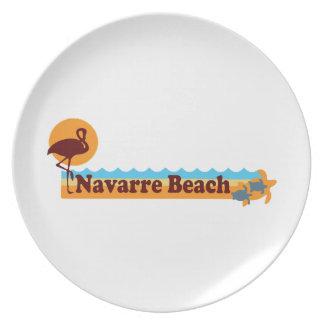 Navarre Beach. Melamine Plate