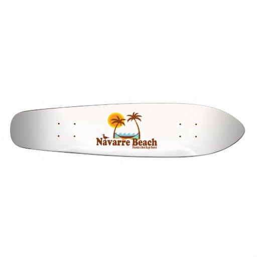 Navarre Beach. Skateboard