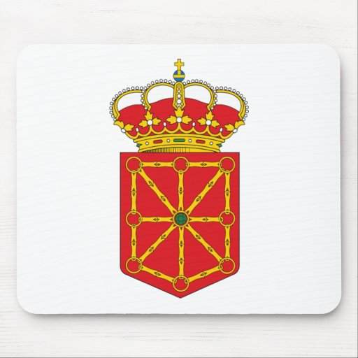 Navarre Coat of Arms Mousepad