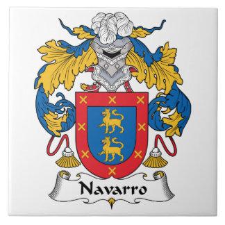 Navarro Family Crest Ceramic Tile