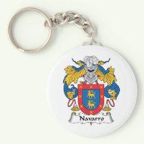 Navarro Family Crest Keychain