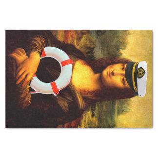 Nave Ahoy Mona Lisa Papel De Seda Pequeño