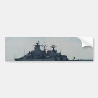 nave alemana pegatina para auto