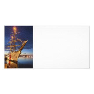 Nave alta del guardacostas de los E E U U Tarjetas Con Fotos Personalizadas