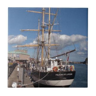 Nave alta en Weymouth Azulejo Cuadrado Pequeño