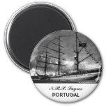 Nave alta portuguesa NRP Sagres Iman De Frigorífico