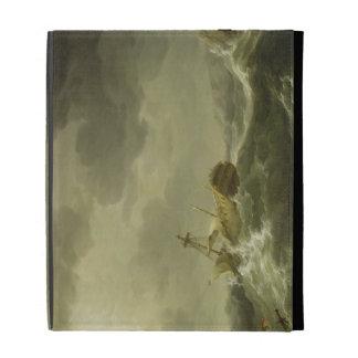 Nave arruinada en una costa rocosa, c.1747-50 (ace