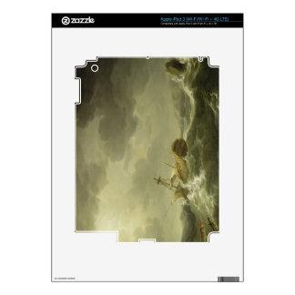 Nave arruinada en una costa rocosa, c.1747-50 (ace pegatina skin para iPad 3