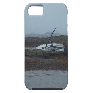 Nave arruinada iPhone 5 carcasas