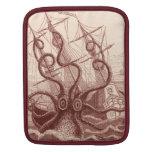 nave contra el pulpo manga de iPad