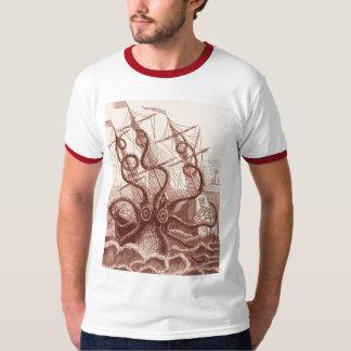 nave contra el pulpo polera