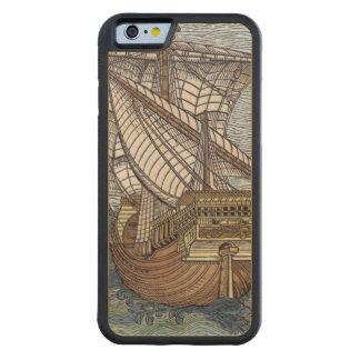 Nave de Columbus'Time Funda De iPhone 6 Bumper Arce