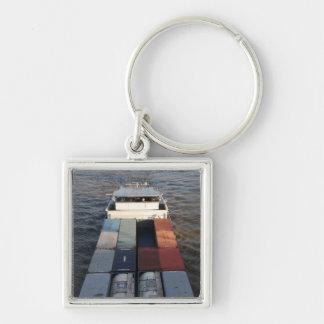 Nave de la carga en la Mosa, Rotterdam Llaveros Personalizados