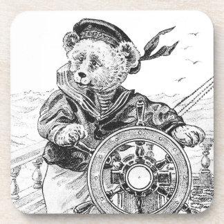 Nave de la dirección de Sam del oso del marinero e Posavaso