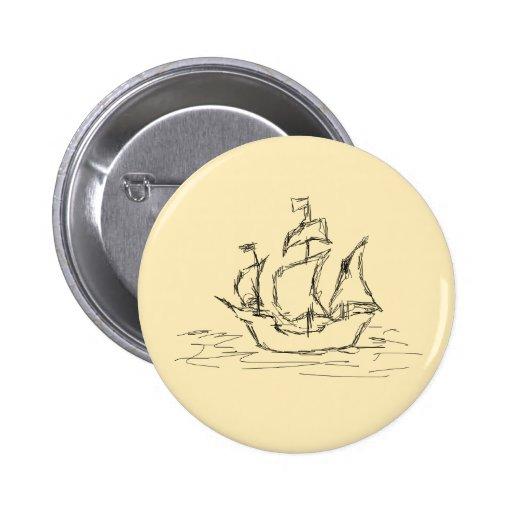 Nave de pirata pin