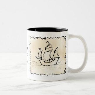 Nave de pirata taza