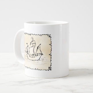 Nave de pirata taza jumbo