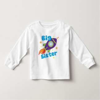 Nave de Rocket de la hermana grande Tee Shirts