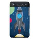 Nave de Rocket del espacio exterior iPod Touch Case-Mate Cárcasas