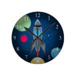 Nave de Rocket del espacio exterior Relojes