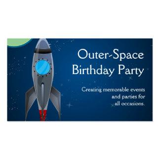 Nave de Rocket del espacio exterior Tarjetas De Visita