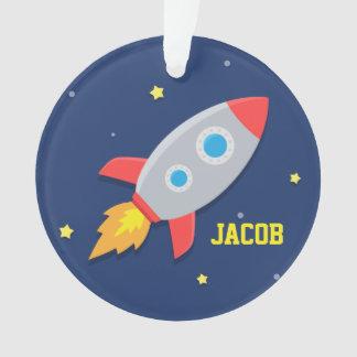 Nave de Rocket, espacio exterior, para los muchach