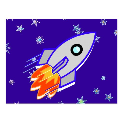 Nave de Rocket Postales