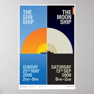 Nave de The Sun/el poster de la nave de la luna