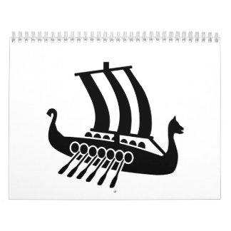 Nave de Viking Calendarios