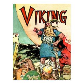 Nave de Viking del Thor de dioses de los nórdises  Postales