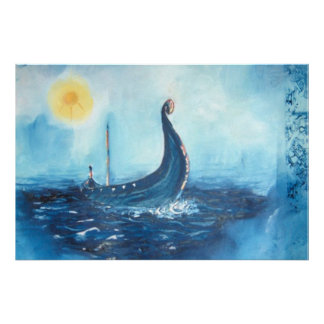Nave de Viking Impresiones