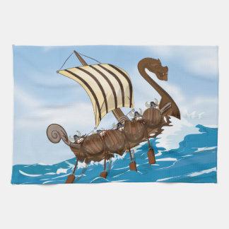 Nave de Viking Toallas