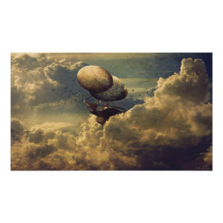 Nave del cielo póster
