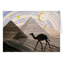 Nave del desierto tarjetas