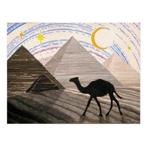 Nave del desierto tarjetas postales