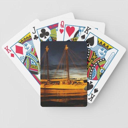 Nave del fantasma baraja cartas de poker