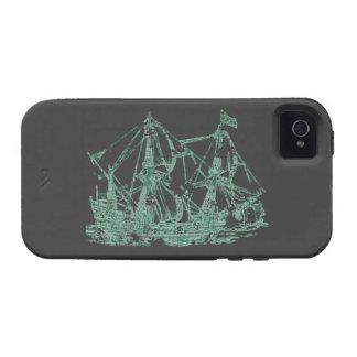 Nave del fantasma iPhone 4/4S carcasa