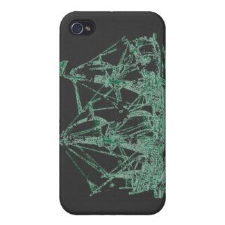Nave del fantasma iPhone 4/4S funda