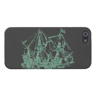 Nave del fantasma iPhone 5 carcasas