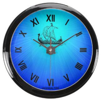 Nave del reloj de la aguamarina por el highsaltire reloj aquavista