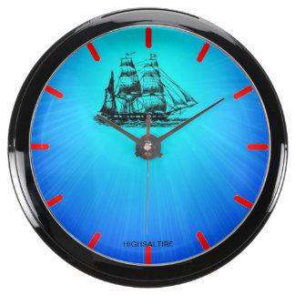 Nave del reloj de la aguamarina por el highsaltire relojes aquavista